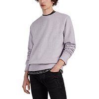 Ksubi North Of Nirvana Cotton French Terry Sweatshirt Lilac