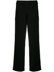 Theory High Waisted Trousers Black