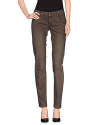 Doo Wop Trousers Casual Trousers Women Dark Brown