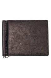 Men's Cathy's Concepts Personalized Leather Wallet And Money Clip Brown Brown I