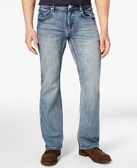 Inc International Concepts Men's Boot Cut Medium Wash Jeans Only At Macy's