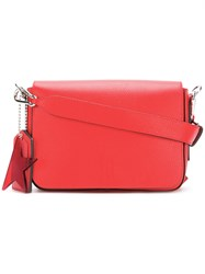 Golden Goose Deluxe Brand Minimal Satchel Red