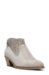 Via Spiga Women's Chrissy Cutout Bootie Grey Suede