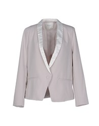 Selected Femme Suits And Jackets Blazers Women Light Grey