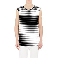 R 13 R13 Men's Striped Muscle T Shirt No Color