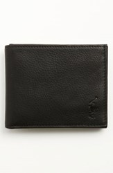 Polo Ralph Lauren Men's Bifold Leather Wallet