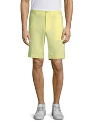 J. Lindeberg Active Eloy Micro Stretch Shorts Red Yellow