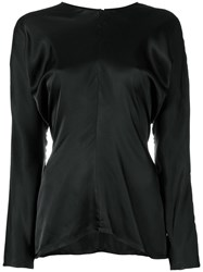 Jil Sander Cherry Top Black