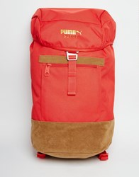 Puma Suede Backpack Red