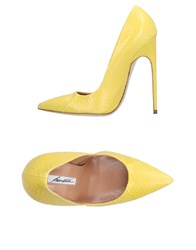 Brian Atwood Pumps Yellow