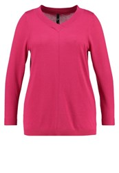 Evans Paris Jumper Pink