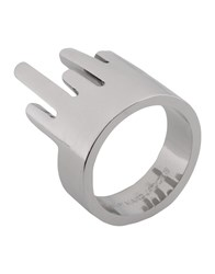 Marc By Marc Jacobs Rings Silver