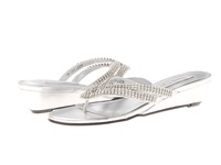 Touch Ups Tango Silver Metallic Women's Shoes