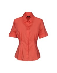 Guess By Marciano Shirts Coral
