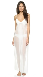 Jenny Packham Long Nightgown Ivory