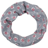 Seasalt Handyband Anchor Round Scarf Grey Rose
