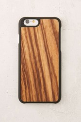 Urban Outfitters Recover Zebrawood Iphone 6 6S Case Brown