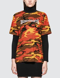Wasted Paris Camo S S T Shirt