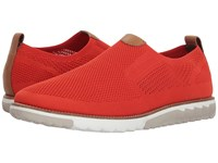 Hush Puppies Expert Mt Slip On Dark Orange Knit Nubuck Slip On Shoes