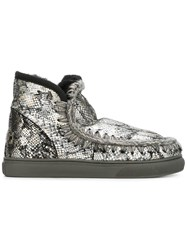 Mou 'Eskimo' Sneakers Metallic