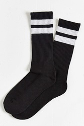 Urban Outfitters Sport Stripe Sock Black