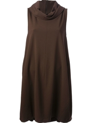 Societe Anonyme Loose Fit Dress Brown