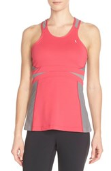 Women's Lole 'Alysa' Racerback Tank Strawberry Pop