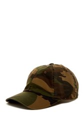 American Needle Washed Camo Baseball Cap Green