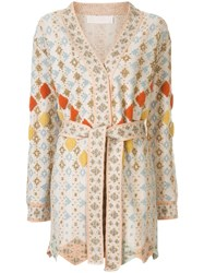 Peter Pilotto Solitaire Belted Wrap Cardigan 60