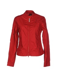 Club Des Sports Jackets Red