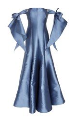 Alexis Mabille Off The Shoulder Gown Blue
