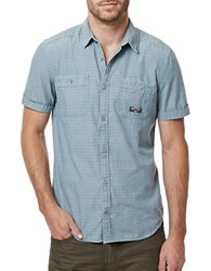Buffalo David Bitton Simodoro Short Sleeve Shirt Indigo
