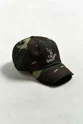 Urban Outfitters A Tribe Called Quest Thank You Camo Dad Hat Green Multi