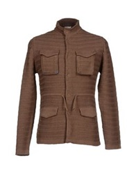 Gold Case By Rocco Fraioli Cardigans Cocoa