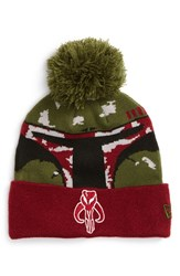 Men's New Era Cap 'Star Wars Boba Fett' Pompom Knit Beanie