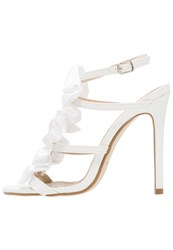 Bebo Be Mine Veronica Bridal Shoes White