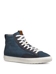 Coach High Top Suede Sneakers Mzs
