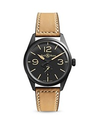Bell And Ross Br 124 Heritage Watch 41Mm Black Tan