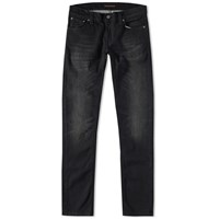 Nudie Jeans Long John Jean Black