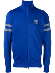 Hydrogen Zipped Sweatshirt Blue