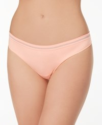 By Jennifer Moore Seamless Thong Created For Macy's Orange Toucan