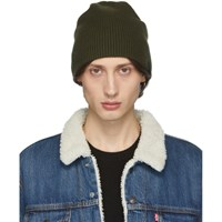 Rag And Bone Khaki Ace Beanie