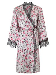 Alice By Temperley Somerset By Alice Temperley Floral Animal Kimono Robe Pink Multi
