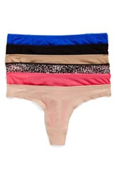 Ongossamer Women's On Gossamer 6 Pack Mesh Thong