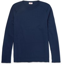 Arpenteur Cotton Jersey Sweatshirt Navy