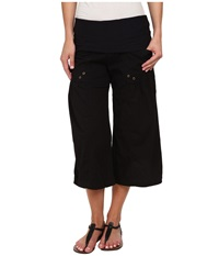 Xcvi Culver Crop Black Women's Casual Pants
