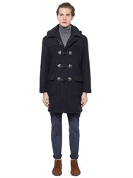 Brooks Brothers Hooded Wool Duffle Coat