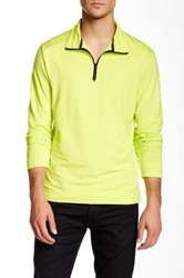 Victorinox Half Zip Brilliant Green Sweater