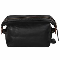N'damus London Small Sloane Black Toiletry Case