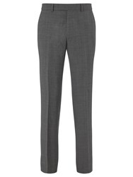 Chester Barrie By Prince Of Wales Check Suit Trousers Grey